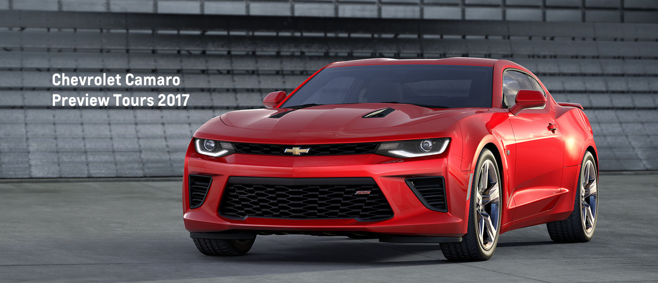 Chevrolet Camaro Preview Tours 2017